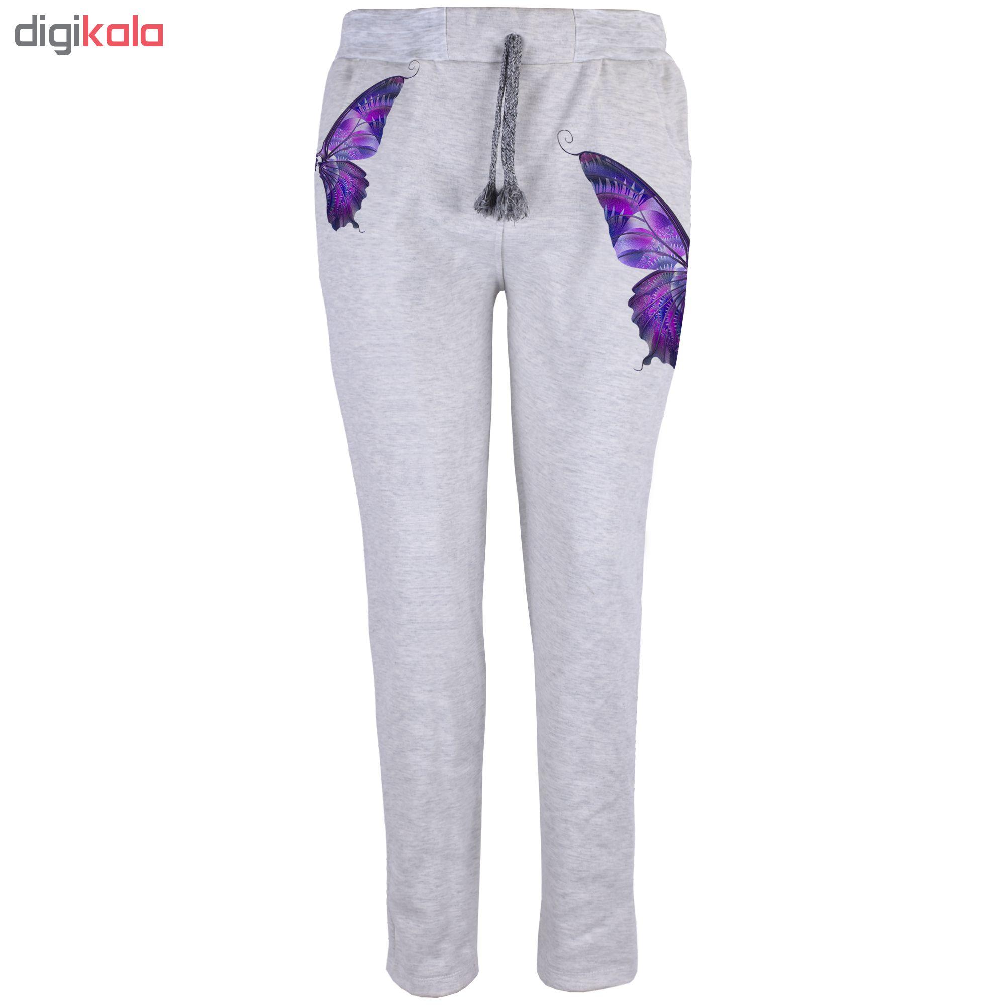 خرید                                      شلوار زنانه طرح پروانه کد B13