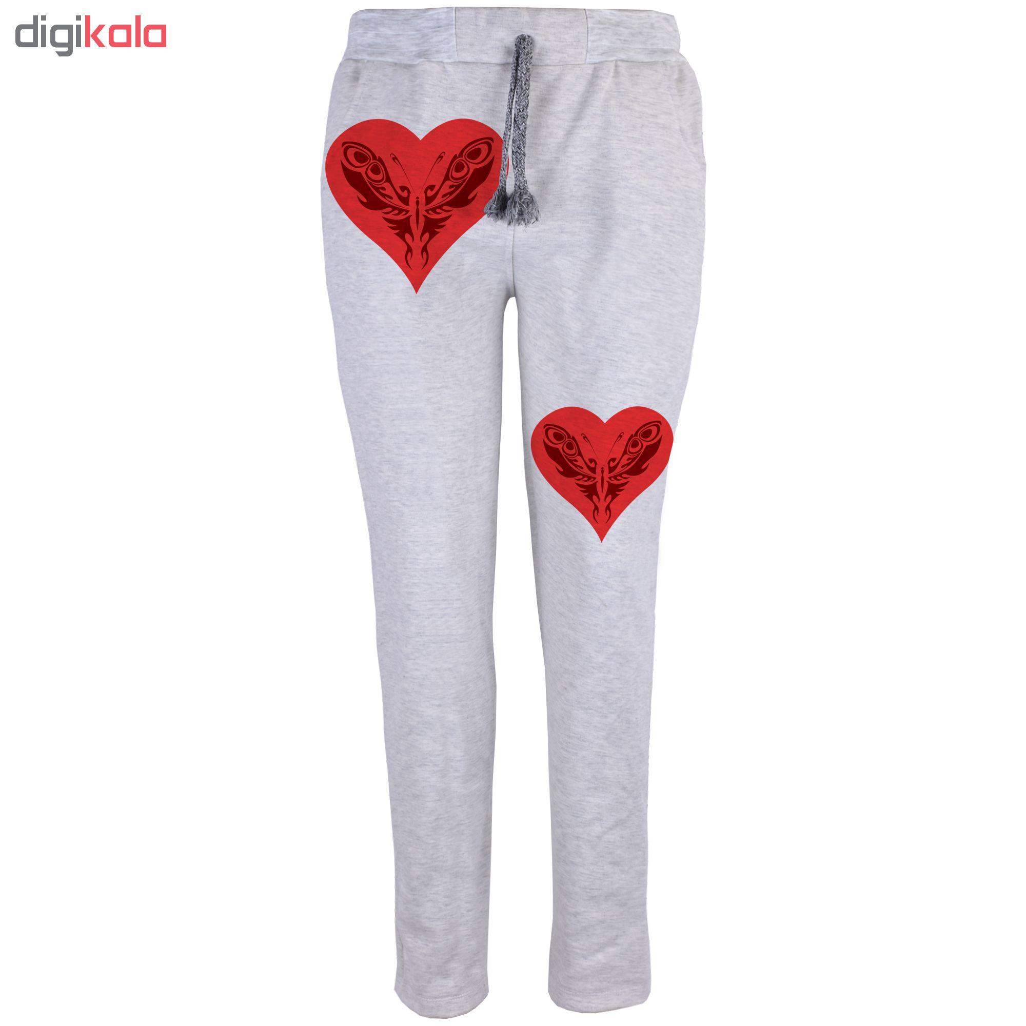خرید                                      شلوار زنانه طرح قلب کد B20