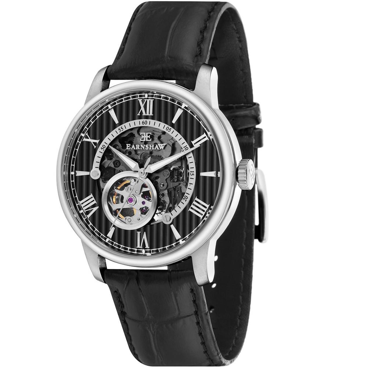 ساعت مچی عقربه ای مردانه ارنشا مدل ES-8802-01 19