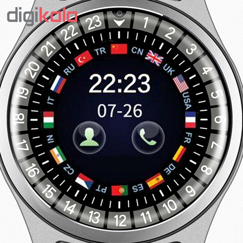 ساعت هوشمند مدل R 68 metal main 1 3