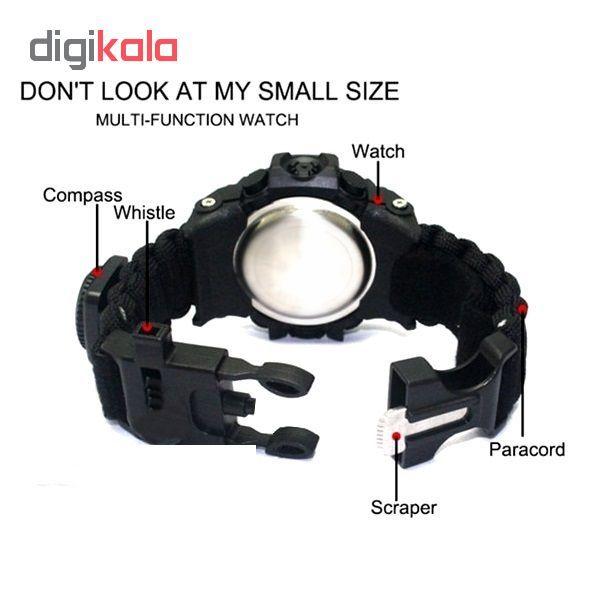 ساعت مچی دیجیتال مدل پاراکورد E20 KH             قیمت