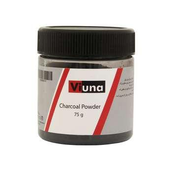 پودر زغال ویونا مدل Charcoal Powder وزن 75 گرم