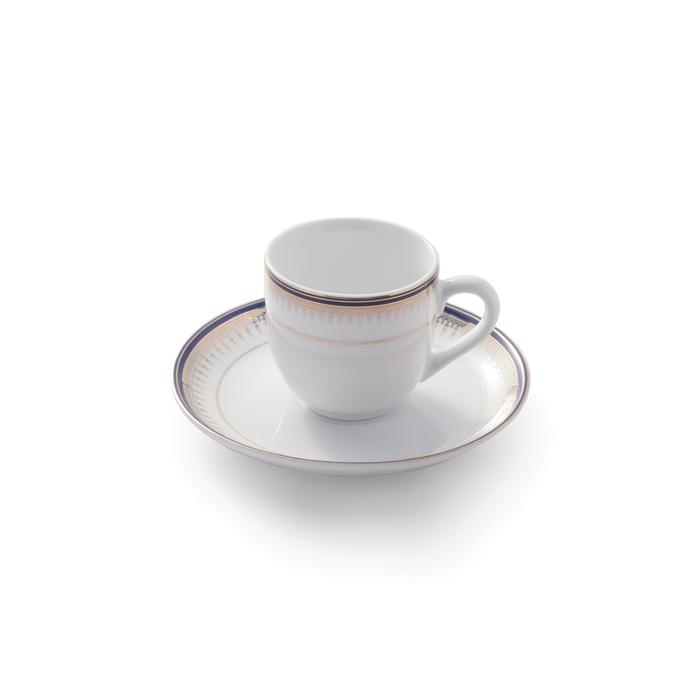 ست فنجان قهوه خوری 12 پارچه چینی زرین ایران مدل خاطره کد 01