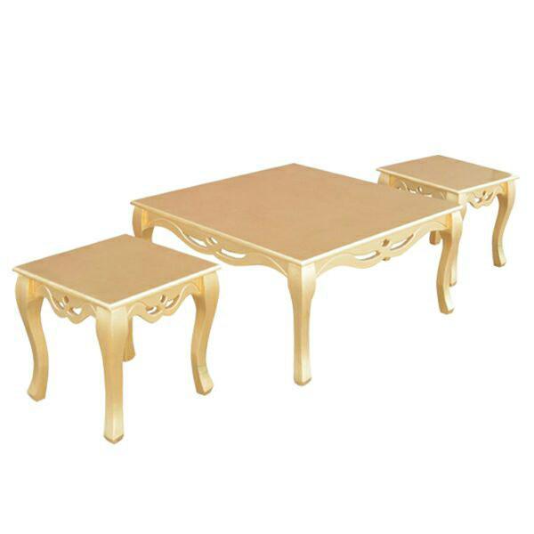 میز پذیرایی مدل دورهمی کدA3 مجموعه 3 عددی