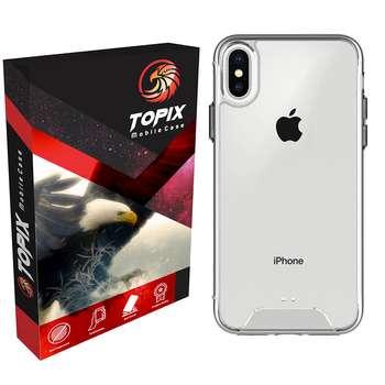 کاور تاپیکس مدل Hard Clear مناسب برای گوشی موبایل اپل iPhone XS MAX