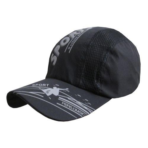 کلاه کپ مردانه مدل SJ کد 112 رنگ مشکی