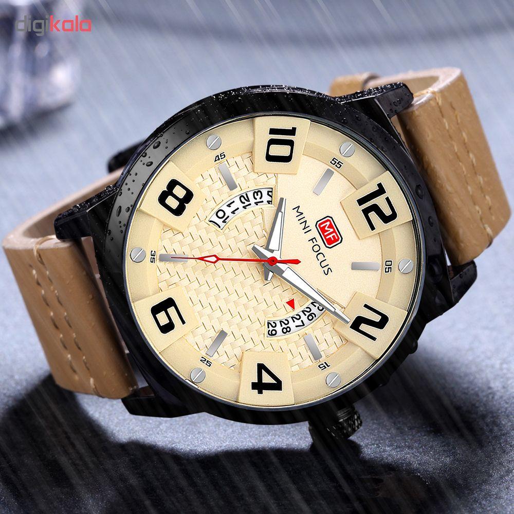 خرید ساعت مچی عقربه ای مردانه مینی فوکوس مدل mf0149g.04
