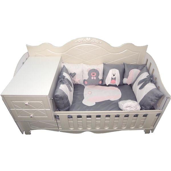 سرویس خواب 8 تکه کودک مدل Smart Rabbit