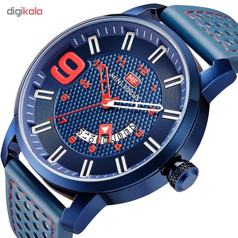 خرید ساعت مچی عقربه ای مردانه مینی فوکوس مدل mf0154g.03