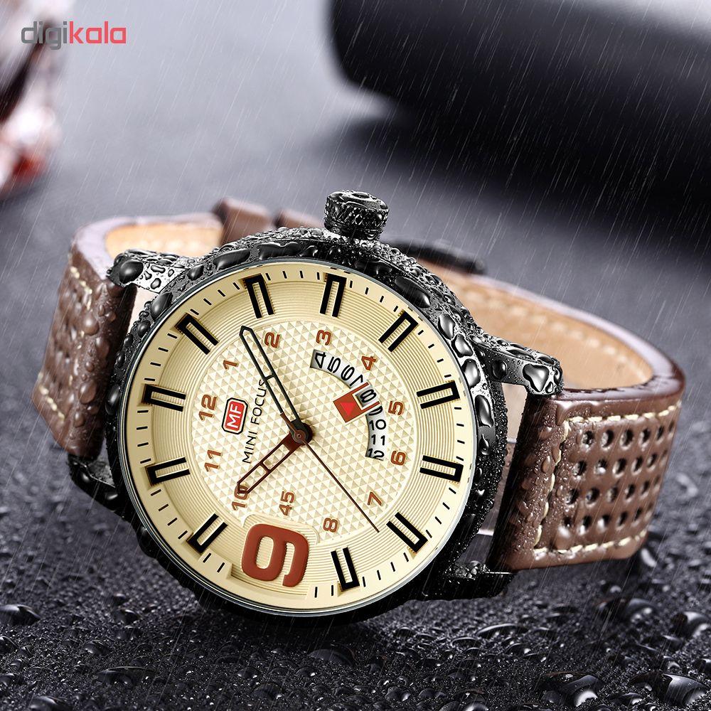 ساعت مچی عقربه ای مردانه مینی فوکوس مدل mf0154g.04