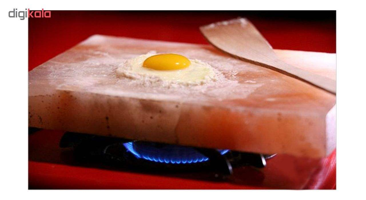 تخته گوشت و پخت و پز سنگ نمک مدل cook main 1 6