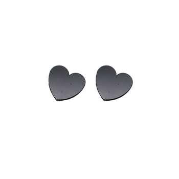 گوشواره مگنتی زنانه طرح قلب مدل Yg-07