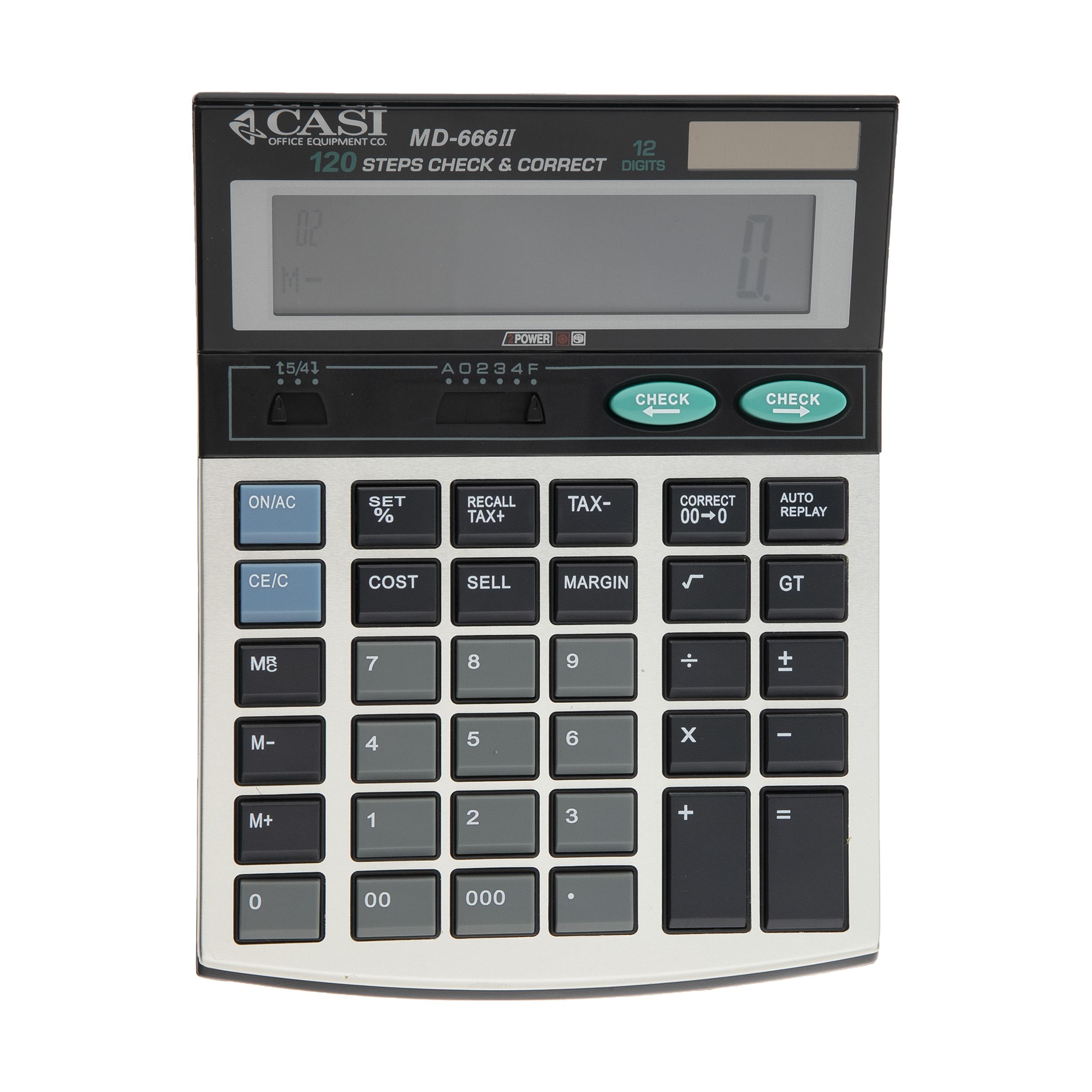ماشین حساب کاسی مدل MD-666II