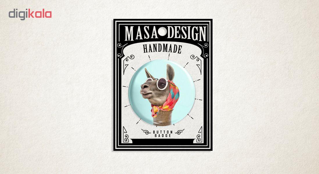 پیکسل ماسا دیزاین طرح زرافه روسری عینک کد ASB27