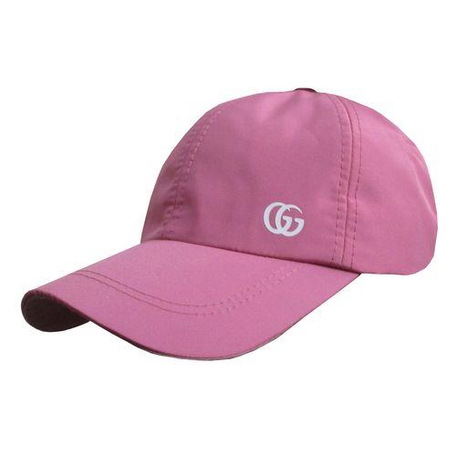 کلاه کپ مردانه مدل SJ کد 120 رنگ صورتی روشن