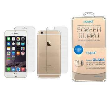 محافظ صفحه نمایش و پشت گوشی موپال مدل ml-1 مناسب برای گوشی موبایل اپل Iphone 6