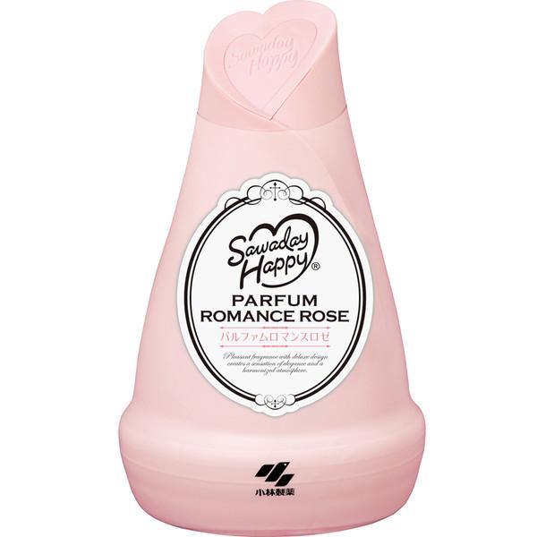 ژل خوشبوکننده هوا کوبایاشی سری هپی ساوادی مدل Parfum Romance Rose حجم 150 میلی لیتر