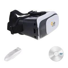 هدست واقعیت مجازی مدل VR Box به همراه ریموت کنترل و DVD نرم افزار