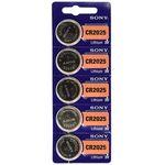 باتری سکه ای سونی مدل CR2025 بسته 5 عددی thumb
