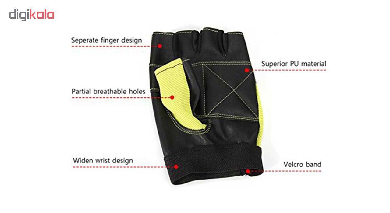 دستکش بدنسازی لیوآپ مدل LS3058 main 1 7