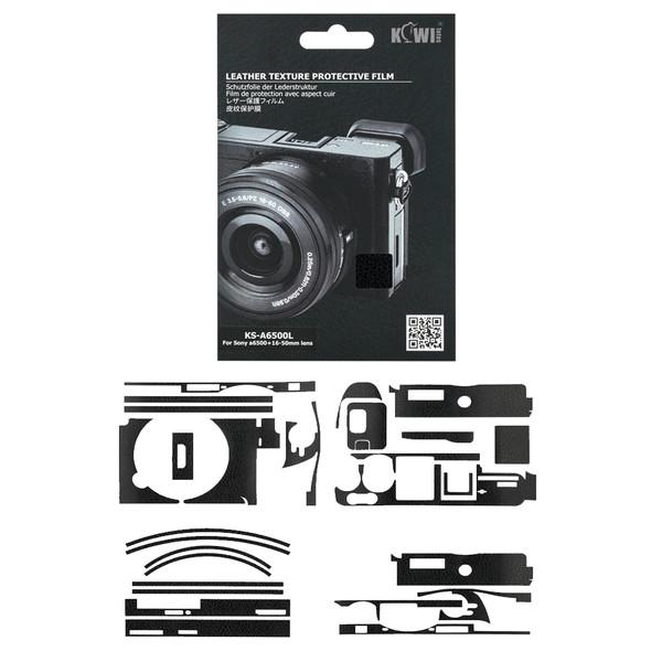 برچسب پوششی کیوی مدل KS-A6500L مناسب برای دوربین عکاسی سونی A6500