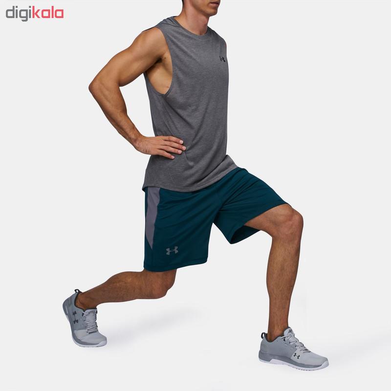 شلوارک ورزشی مردانه آندر آرمور مدل 919-1257825