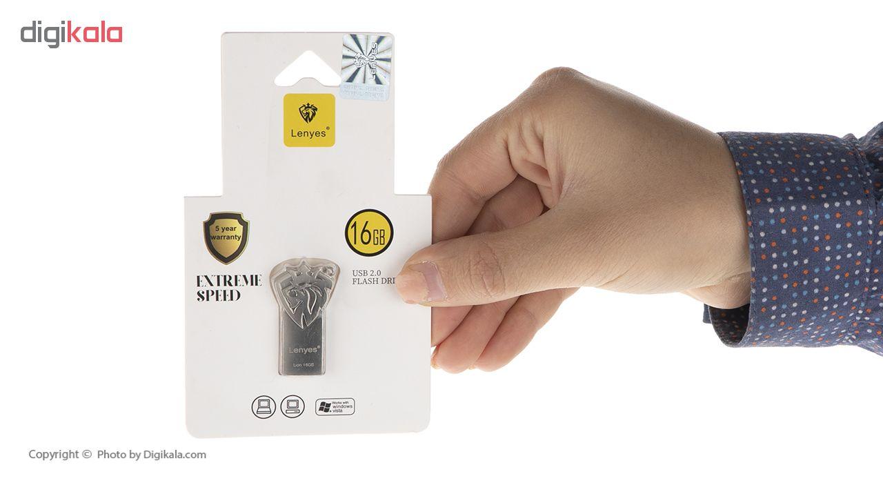 فلش مموری لنیس مدل  Lion ظرفیت 16 گیگابایت