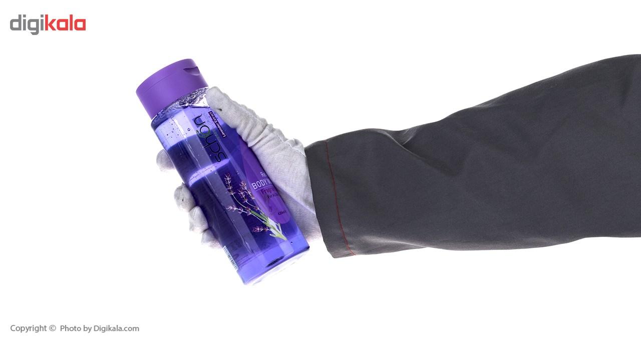 شامپو بدن شون مدل Lavender حجم 420 میلی لیتر