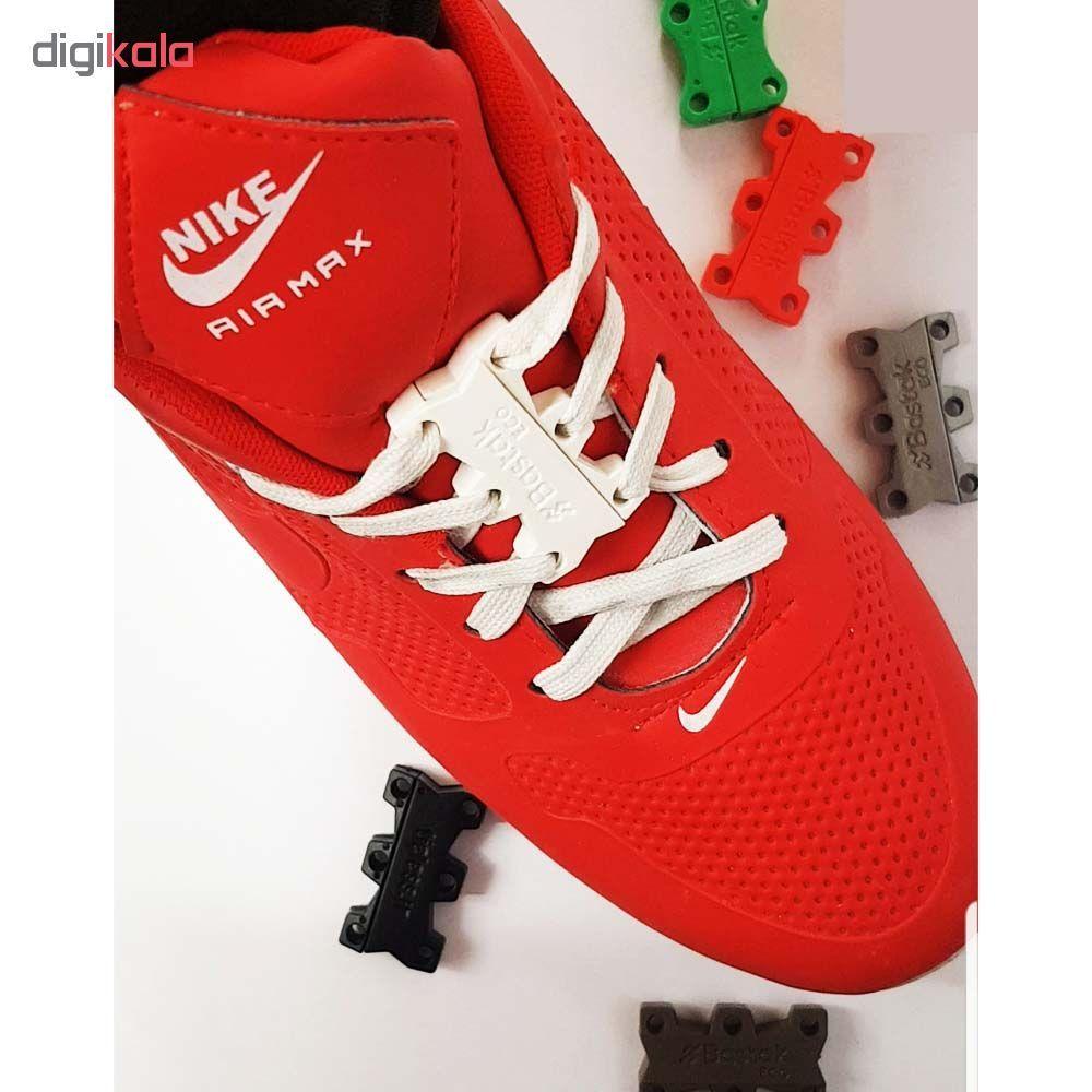 بند کفش مغناطیسی بستاک مدل اِکو E110 رنگ نقره ای main 1 14