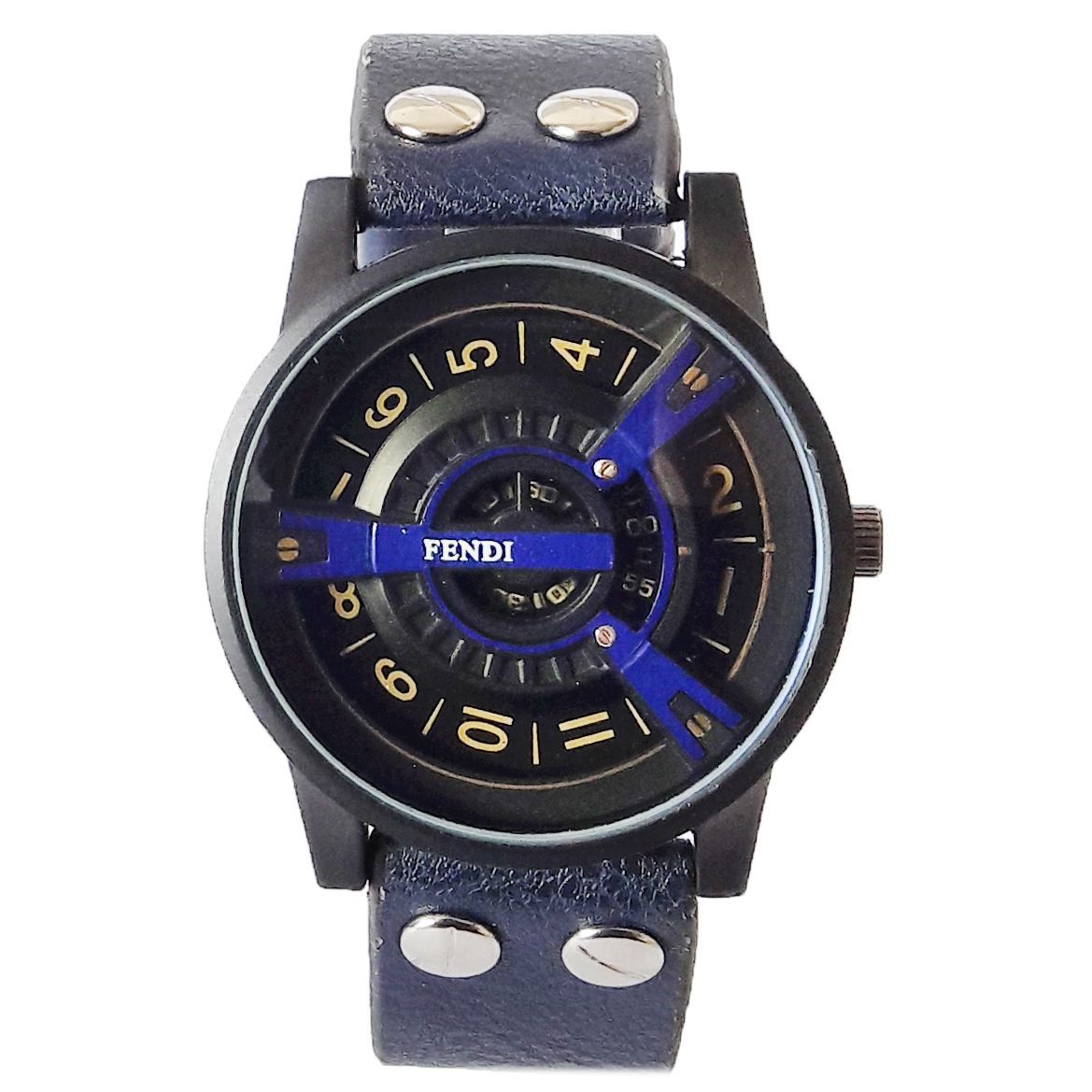 ساعت مچی عقربه ای مردانه مدل FEN 6622 / SO به همراه دستمال مخصوص نانو برند کلیر واچ 18