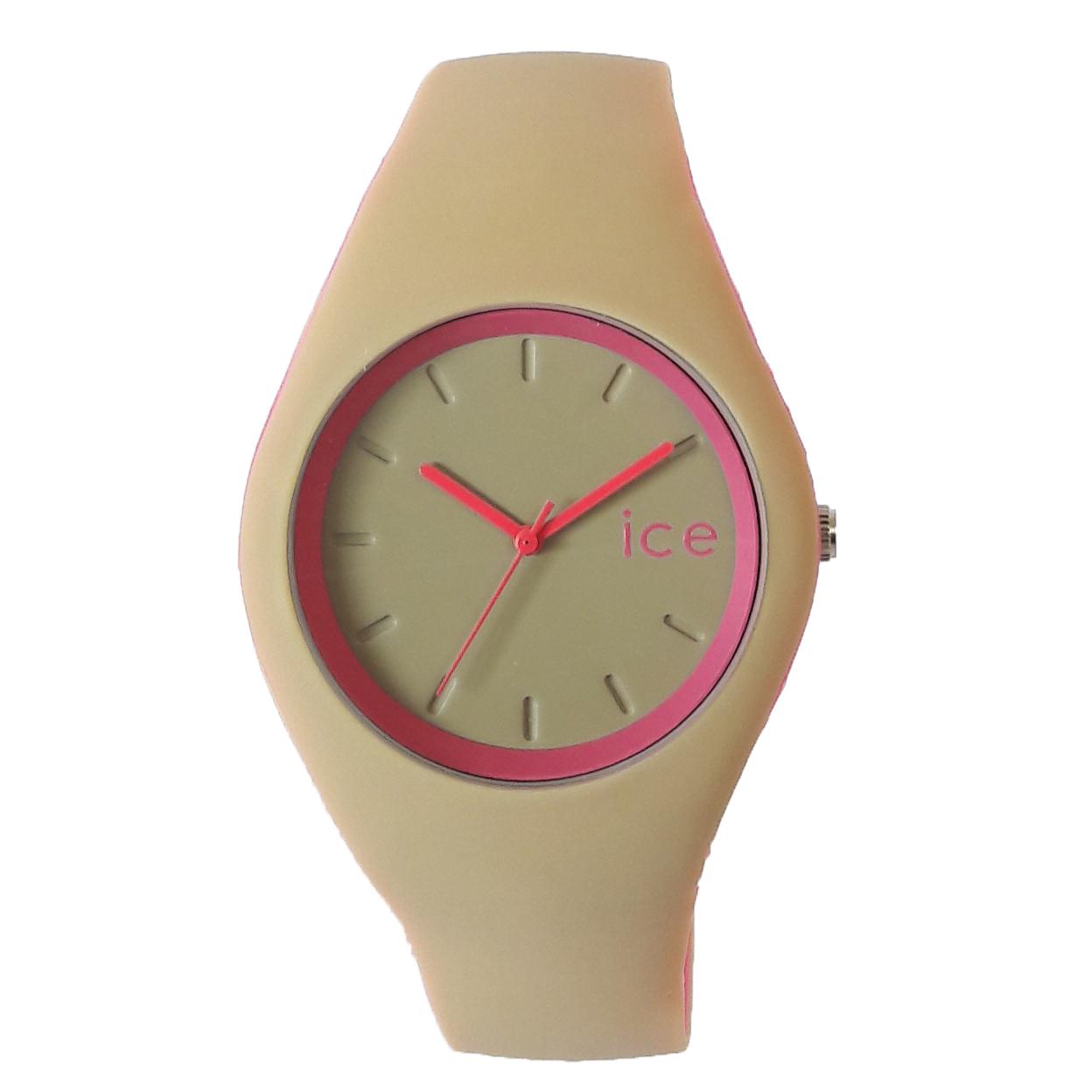 ساعت مچی عقربه ای زنانه مدل IS 9553 / KE-SOR به همراه دستمال مخصوص نانو برند کلیر واچ 13