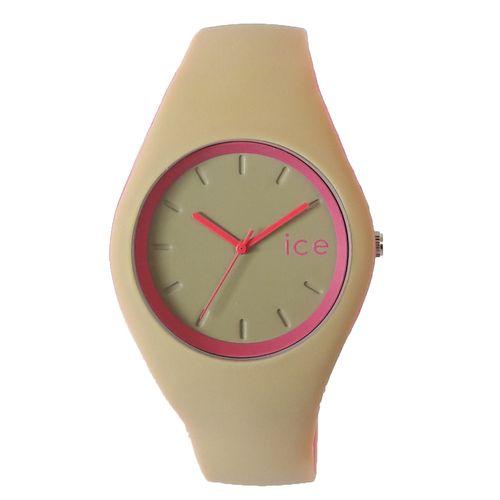 ساعت مچی عقربه ای زنانه مدل IS 9553 / KE-SOR به همراه دستمال مخصوص نانو برند کلیر واچ