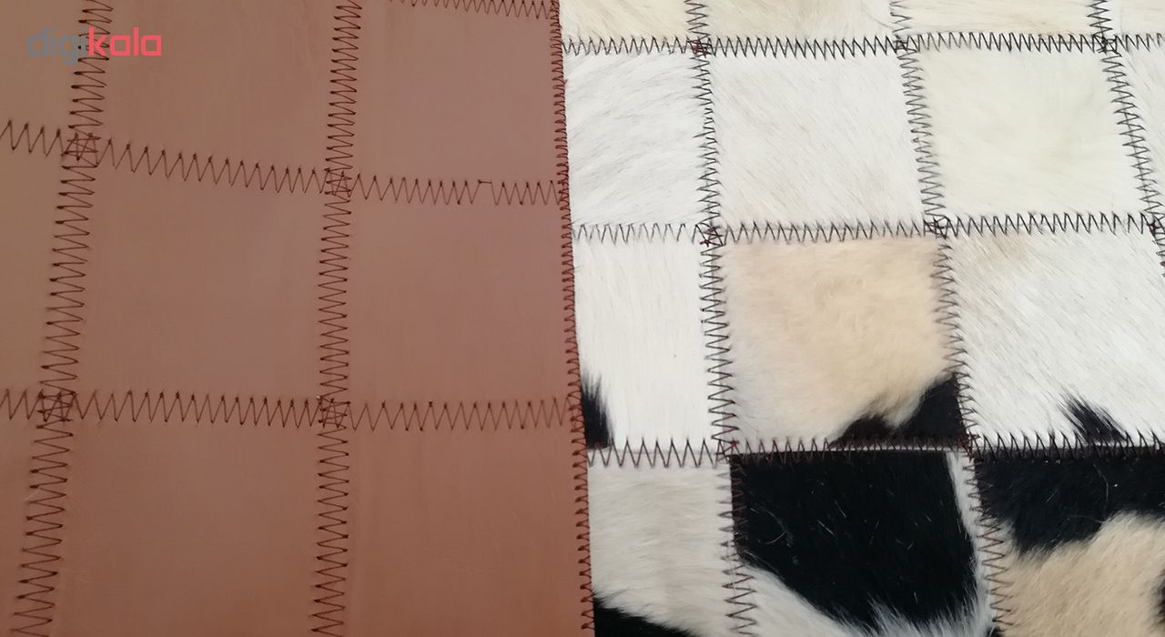 کلاژ فرش پوست و چرم کمالی مدل AD-00376