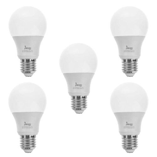 لامپ ال ای دی 9 وات مهتابی پارسه شید مدل PL9 پایه E27 بسته 5 عددی