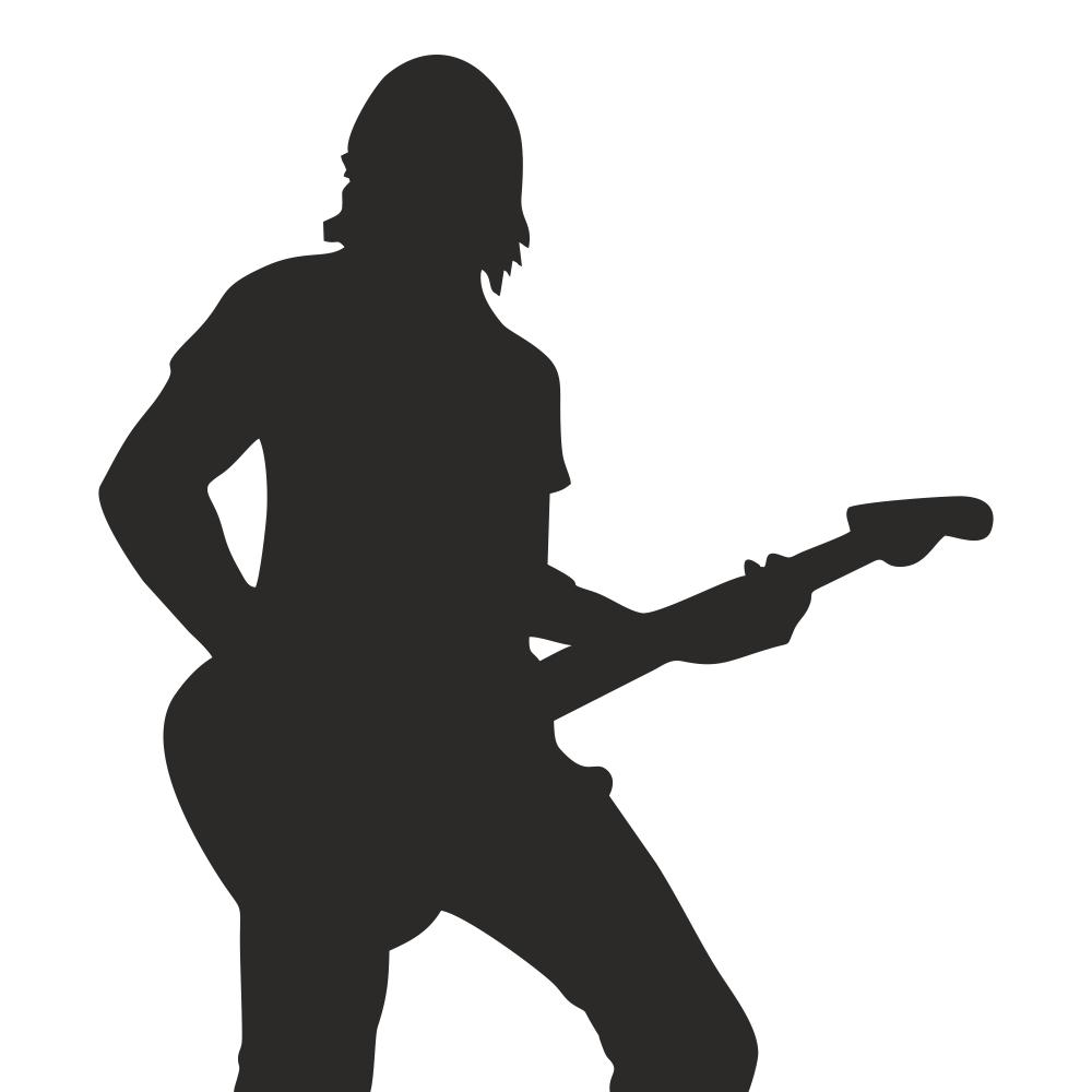 استیکر فراگراف کلید و پریز چاپ پارسیان طرح پسرک گیتارزن بسته 2 عددی