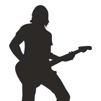 استیکر کلید و پریز چاپ پارسیان طرح پسرک گیتارزن بسته 2 عددی