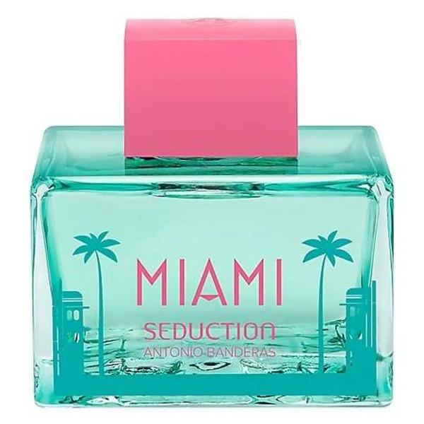 ادو تویلت زنانه آنتونیو باندراس مدل Miami Seduction Blue حجم 80 میلی لیتر