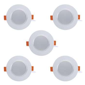 پنل ال ای دی 7 وات پارس شعاع توس مدل سولاریس بسته 5 عددی