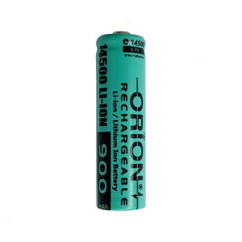 باتری لیتیوم یون قابل شارژ اوریون کد 14500 ظرفیت 900 میلی آمپر ساعت
