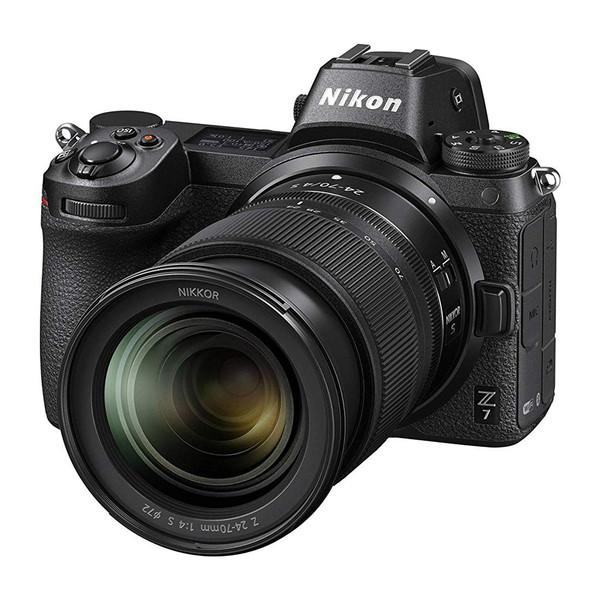 دوربین دیجیتال بدون آینه نیکون مدل Z7 به همراه لنز 24-70 میلی متر f/4 S
