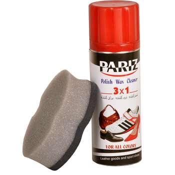 اسپری تمیز کننده کفش پاریز کد 320