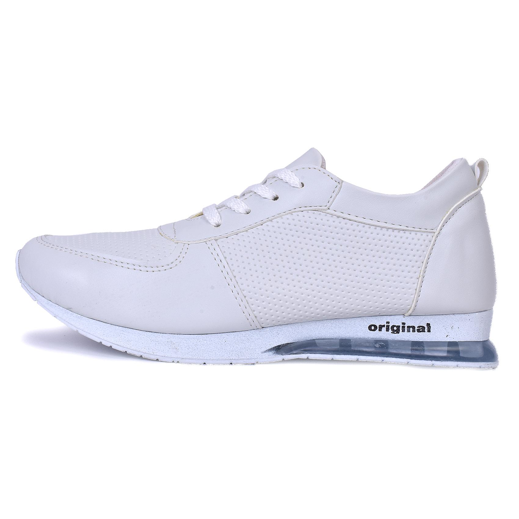 کفش مخصوص پیاده روی مدل bagh-kh رنگ سفید