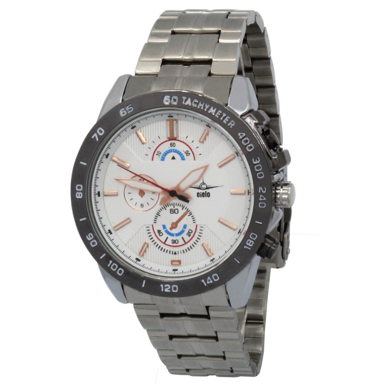 ساعت مچی عقربه ای مردانه سیلو مدل MU-0013