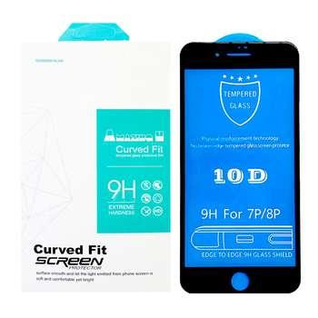 محافظ صفحه نمایش 10D مدل MT7 مناسب برای گوشی موبایل اپل Iphone 7 Plus/8 Plus