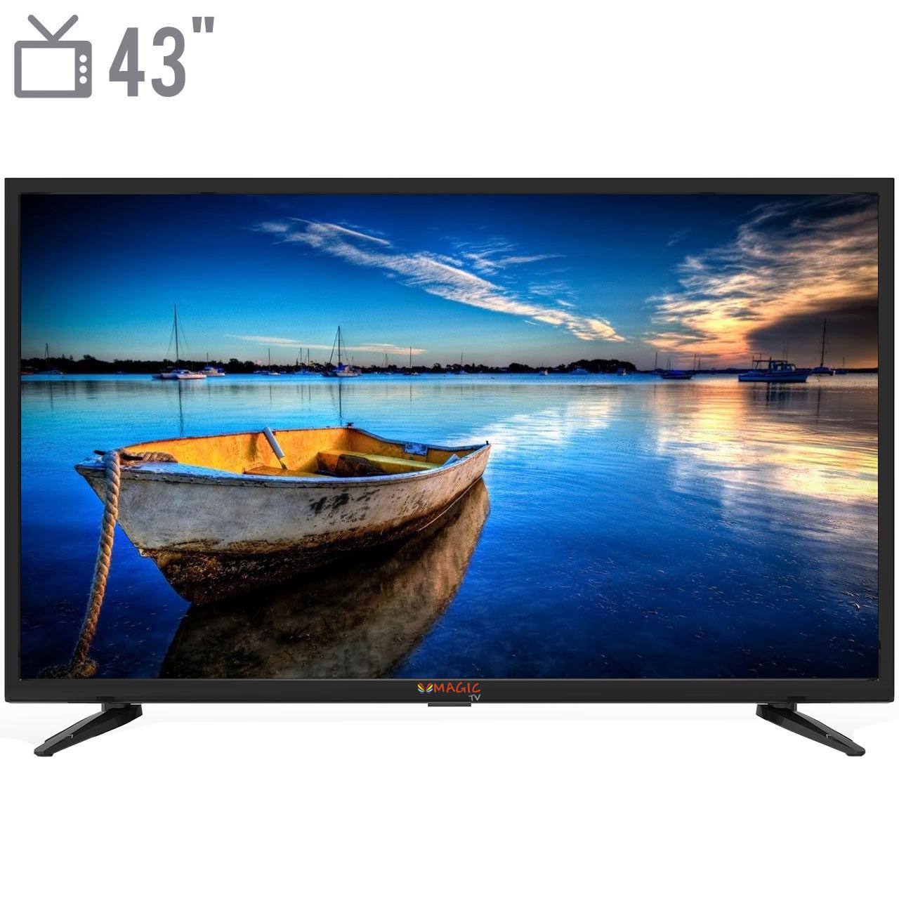 خرید اینترنتی                     تلویزیون ال ای دی مجیک تی وی مدل MT43D1300 سایز 43 اینچ