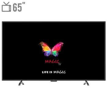 تلویزیون ال ای دی هوشمند مجیک تی وی مدل MT65D2400 سایز 65 اینچ