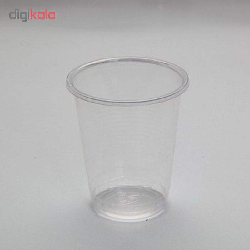 لیوان یکبار مصرف نیک پلاستیک تمیزی کد 0200 بسته 500 عددی main 1 2