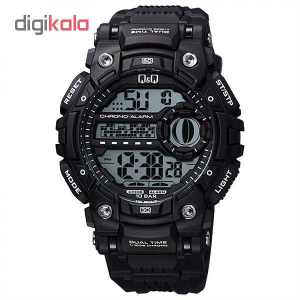 خرید ساعت مچی دیجیتال مردانه کیو اند کیو مدل M161J003Y | ساعت مچی