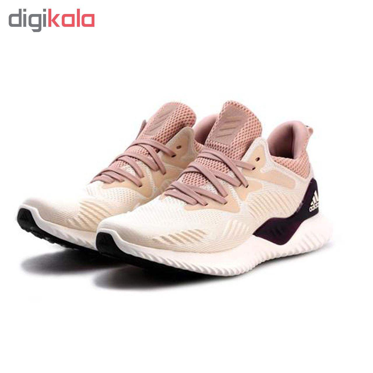 کفش مخصوص دویدن زنانه آدیداس مدلAlphabounce EM کد اصلی TQ01986N