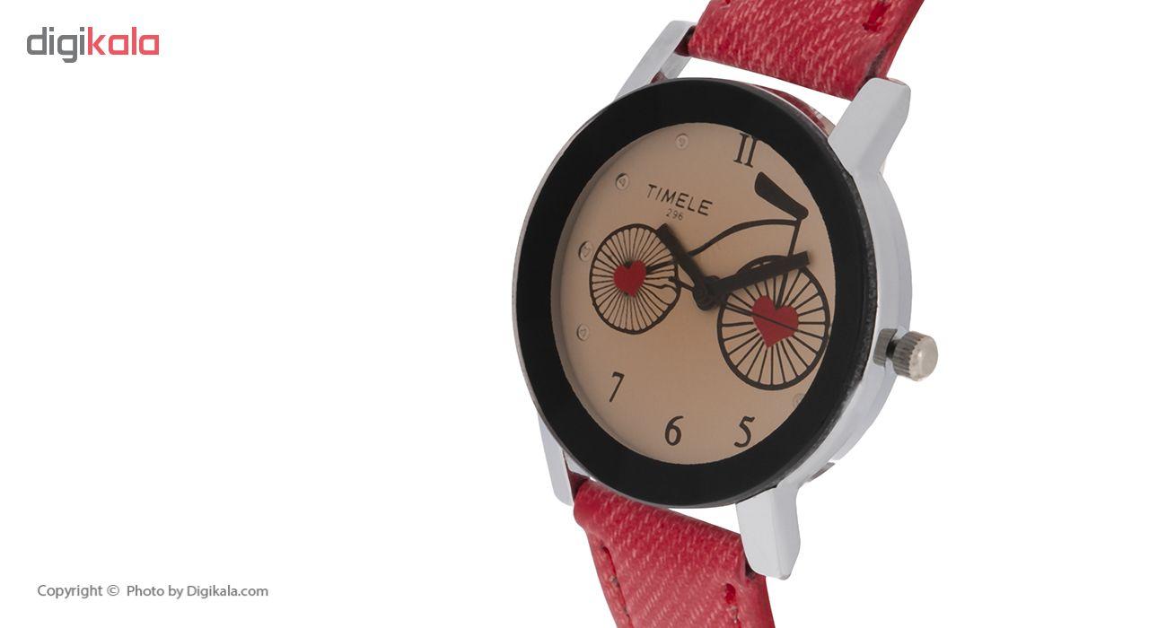 ساعت مچی عقربه ای زنانه تی می لی مدل GE4587